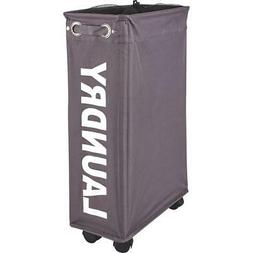 Wenko Wheeled Laundry Hamper  - 1 Each