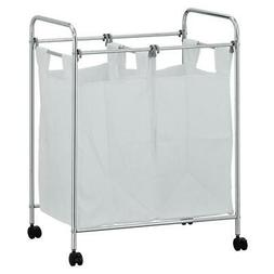 FURINNO WS17126 Wayar Laundry Sorter with Removable Bags